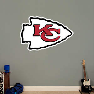 Kansas City Chiefs Logo Fathead Wall Decal
