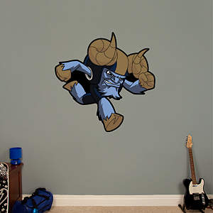 St. Louis Rams Rusher Fathead Wall Decal