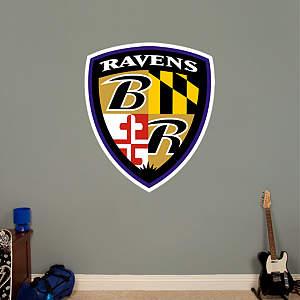 Baltimore Ravens Shield Logo Fathead Wall Decal