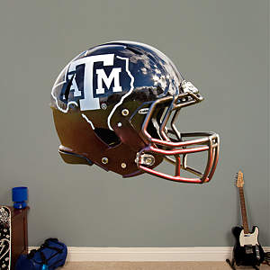 Texas A&M Aggies State Helmet Fathead Wall Decal