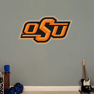 Oklahoma State Cowboys Logo Fathead Wall Decal