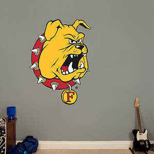Ferris State Bulldogs Logo Fathead Wall Decal