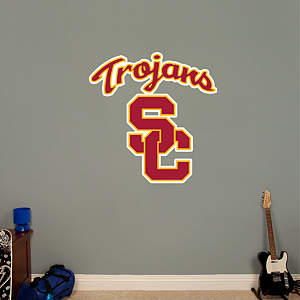 USC Trojans Logo Fathead Wall Decal