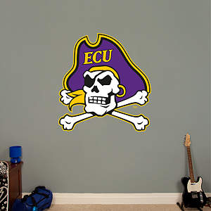 East Carolina Pirates Logo Fathead Wall Decal