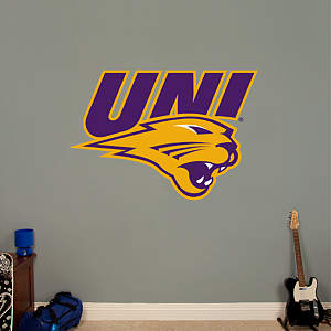 Northern Iowa Panthers Logo Fathead Wall Decal