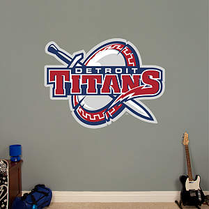 Detroit Titans Logo Fathead Wall Decal