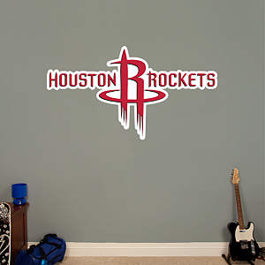 Houston Rockets Logo Fathead Wall Decal