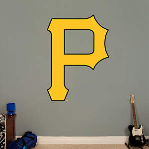 Pittsburgh Pirates Logo Fathead Wall Decal