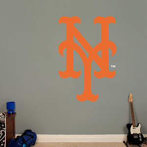 New York Mets Alternate Logo Fathead Wall Decal