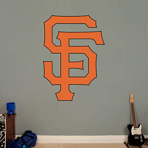 San Francisco Giants Alternate Logo Fathead Wall Decal