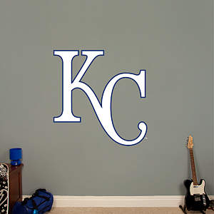 Kansas City Royals Alternate Logo Fathead Wall Decal