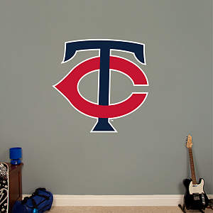Minnesota Twins Alternate Logo Fathead Wall Decal