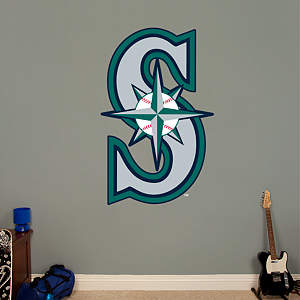 Seattle Mariners Alternate Logo Fathead Wall Decal