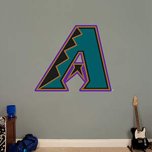 Arizona Diamondbacks Classic Logo Fathead Wall Decal