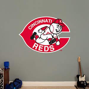 Cincinnati Reds Classic Logo Fathead Wall Decal
