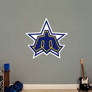 Seattle Mariners Classic Logo Fathead Wall Decal