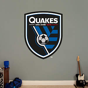 San Jose Earthquakes Logo Fathead Wall Decal