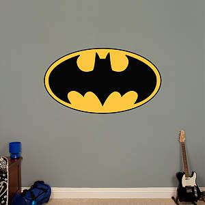 Batman Logo Fathead Wall Decal