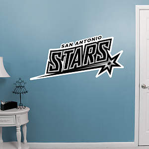 San Antonio Stars Logo Fathead Wall Decal