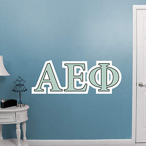 Alpha Epsilon Phi Letters Fathead Wall Decal