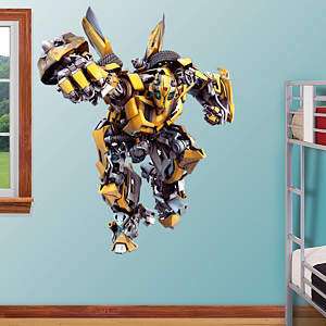 Bumblebee Fathead Wall Decal
