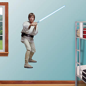 Luke Skywalker Fathead Wall Decal