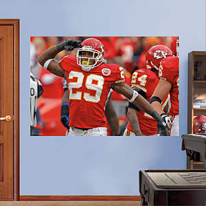Eric Berry Salute - In Your Face Mural Fathead Wall Decal
