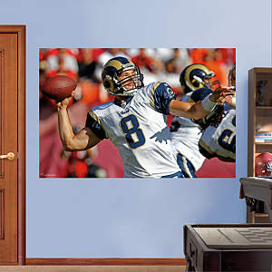 Sam Bradford In Your Face Mural Fathead Wall Decal