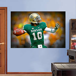 Robert Griffin III Baylor Mural  Fathead Wall Decal