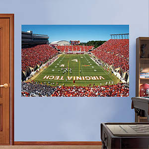 Virginia Tech - Lane Stadium Mural Fathead Wall Decal