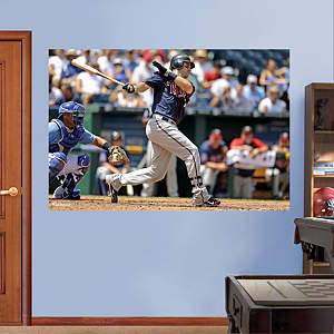 Joe Mauer Mural Fathead Wall Decal