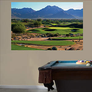 PGA TOUR TPC Scottsdale Hole 16 Mural Fathead Wall Decal