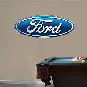 Ford Oval Logo Fathead Wall Decal