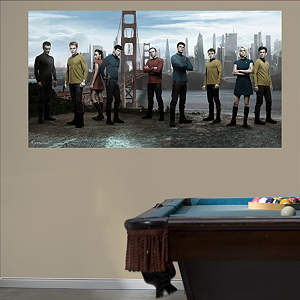 Star Trek - Into Darkness Mural Fathead Wall Decal