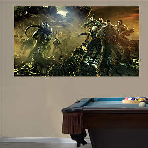 Gears of War 3: Battle Mural Fathead Wall Decal