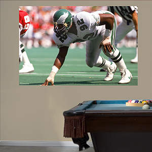 Reggie White Eagles - In Your Face Mural Fathead Wall Decal