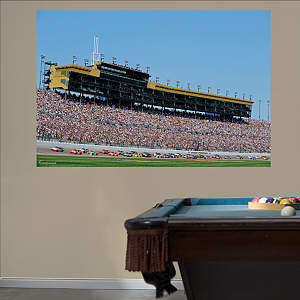 Kansas Speedway Mural Fathead Wall Decal