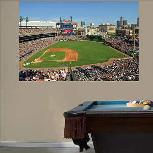 Inside Comerica Park 2012 Mural Fathead Wall Decal