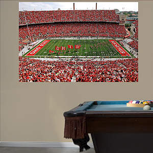 Ohio State - Buckeyes Entrance Mural Fathead Wall Decal