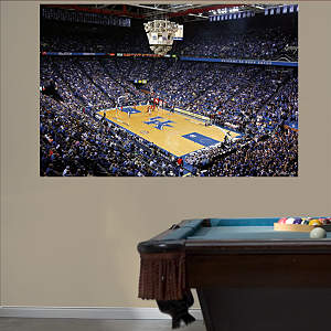 Kentucky Basketball Mural - Rupp Arena Corner View Fathead Wall Decal
