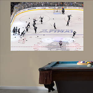 Los Angeles Kings Overhead Stanley Cup Mural  Fathead Wall Decal
