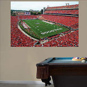 Georgia Bulldogs 2013 - Sanford Stadium Mural Fathead Wall Decal