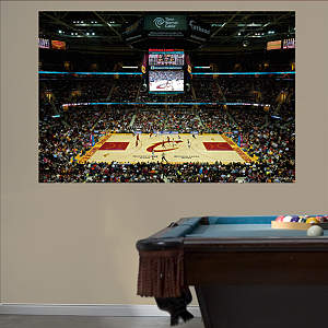 Cleveland Cavaliers Quicken Loans Arena Mural Fathead Wall Decal