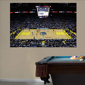 Golden State Warriors Arena Mural Fathead Wall Decal