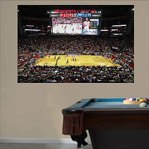 Houston Rockets Arena Mural Fathead Wall Decal