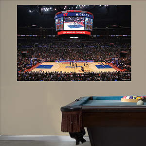 Los Angeles Clippers Arena Mural Fathead Wall Decal