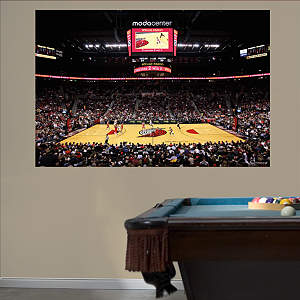 Portland Trail Blazers Arena Mural Fathead Wall Decal