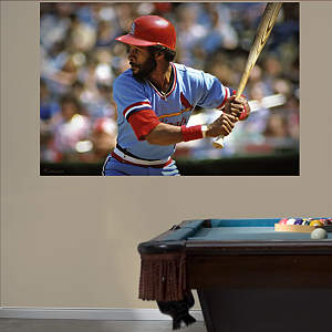 Ozzie Smith Mural Fathead Wall Decal