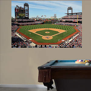 Inside Citizens Bank Park Mural Fathead Wall Decal