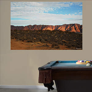 Utah Red Rocks Mural Fathead Wall Decal